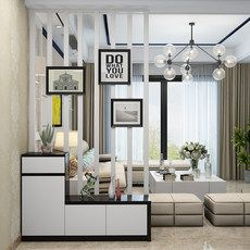 Living Room Divider, Living Room Partition Design, Room Partition Designs, Bedroom Built Ins, Bedroom Nook, Small Apartment Interior, Living Room Remodel, Cool Rooms, House Rooms