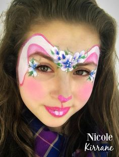 Sweet Bunny Face Paint