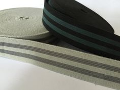 1 in wide striped elastic by NoaElastics on Etsy