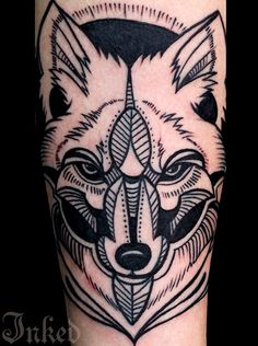Wolf. The lines a little jacked tho