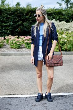 Even though my mind is currently thinking about my Autumn/Winter wish list, todays looks is a throwback to when I was sporting denim shorts!