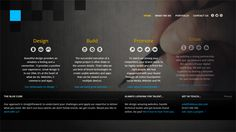 Bold and Striking Website Design Featuring Dark Photo Backgrounds - http://mocco.sk/bold-and-striking-website-design-featuring-dark-photo-backgrounds/