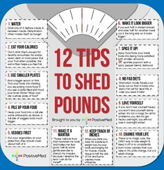 12 Tips To Help Shed Pounds - For people who struggle to lose weight, it can be a long, drawn-out process. I have thrown together a few tips that I have learned over the years to help you through the process.