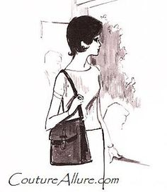 Friday Charm School: How to carry a purse and wear gloves like a Lady