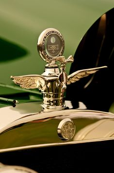 Hood Ornament Photograph - 1919 Mcfarlan Type 125 Touring Motometer - Hood Ornament by Jill Reger Retro Cars, Vintage Cars, Antique Cars, Car Badges, Car Logos, Car Bonnet, Car Radiator, Car Hood Ornaments, Ornaments Design