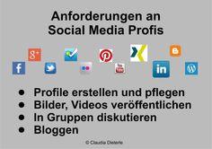 Bild zum Blogeintrag Anforderungen an Social Media Profis auf http://www.tipptrick.com/2013/12/18/claudias-praktischer-ratgeber-blogparade/