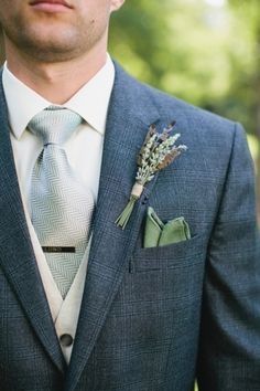 Groom & Groomsmen: Rustic Lavender  Photography by Courtney Reese on Glamour and Grace via Lover.ly