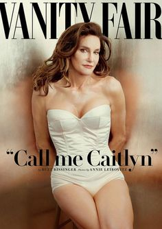 "Bruce Jenner introduces herself as Caitlyn on the June ""Vanity Fair"" cover."