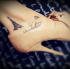 Paris Tattoos | POPSUGAR Beauty