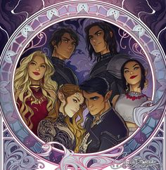 A cropped version of the Inner Circle Art by Charlie Bowater