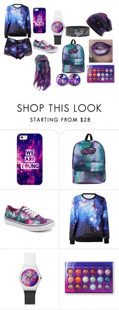 """""""Galaxy Life"""" by jayjaypanda on Polyvore featuring Casetify and Vans"""