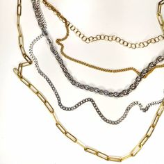 Κολιέ αλυσίδες Stainless Steel Necklace, Gold Necklace, Jewelry, Gold Pendant Necklace, Jewlery, Jewerly, Schmuck, Jewels, Jewelery
