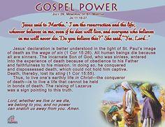 Gospel Power-July 29
