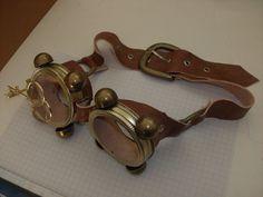 WIP: Steam Punk Goggles 2 by Izaiazar.deviantart.com on @deviantART