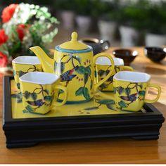 Vintage Chinese ceramic & porcelain coffee & tea set, View japanese porcelain coffee set, JIARUI Product Details from Ji'an Jiarui Industry Co., Ltd. on Alibaba.com
