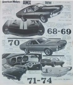 AMX 1968 - 1974