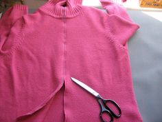 Thinking Out Loud: Tutorial: Converting a Pullover into a Cardigan Using Fabric Binding The Fold Line, Straight Stitch, Bias Tape, Brown Floral, Diy Clothing, Vintage Buttons, Old Women, Sewing Patterns, Turtle Neck