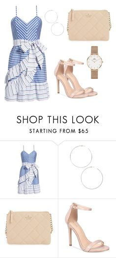 """Senza titolo #1782"" by carly-olly ❤ liked on Polyvore featuring Parker, Jenny Bird, Kate Spade, ALDO and Daniel Wellington"