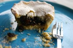 Gluten Free Mince Pies with Damson and Cobnuts