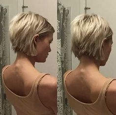 Krissa Fowles short blonde choppy hair Previous Post Next Post Short Choppy Bobs, Choppy Bob Haircuts, Blonde Bob Hairstyles, Cool Hairstyles, Short Pixie, Choppy Pixie Cut, Haircut Short, Hairstyles 2018, Corte Y Color