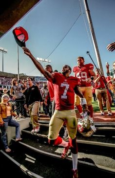 Colin Kaepernick and Fans