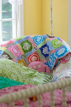 Quilt using Jennifer Paganelli