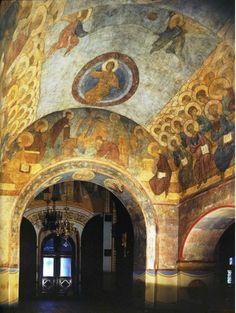 Cattedrale della Dormizione di Vladimir.  Giudizio Universale.  1408