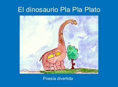 """StoryJumper book - """"El dinosaurio Pla Pla Plato""""."""