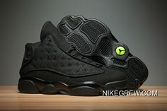 huge discount 39dfa eceda Tax Free Men Basketball Shoes Air Jordan XIII Black Cat SKU 116406-292