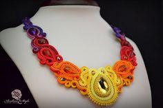 Soutache necklace - Andrea Zelenak S0230