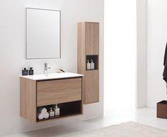 Avanity Sonoma (single) 31.5-Inch Restored Khaki Modern Wall-Mount Bathroom Vanity