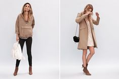 Nanushka - neutrals  the perfect camel coat