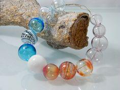 Spiral Hollow Beads (13) by Caroline Dousi by carolinedousi on Etsy