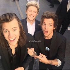 Wait wich one is photoshopped Niall looks weird in this pic cause when you type in Larry stylinson on google this is the first thing that comes up