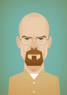 I have been watching a lot of breaking bad  like a LOT http://www.stanleychowillustration.com/post/8046194430