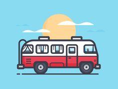 Tour Bus by Scott Tusk