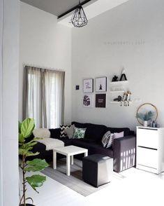 Home Room Design, Home Design Decor, Interior Design Living Room, Living Room Designs, Small Living Rooms, Home Living Room, 1930s House Interior, Cute Bedroom Decor, Home Decor Furniture