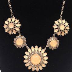 Selling this Lia Sophia Flower Statement Necklace in my Poshmark closet! My username is: starlit87. #shopmycloset #poshmark #fashion #shopping #style #forsale #Lia Sophia #Jewelry