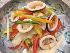 イカと彩り野菜のマリネ:アスレシピ