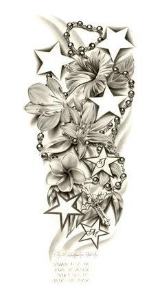 Flower sleeve