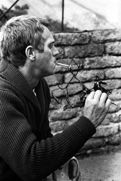 Steve McQueen by William Claxton