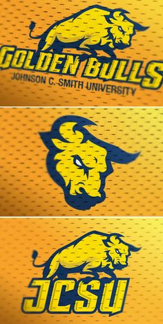 JCSU, sports logo redesign concept. by Marco Echevarria, via Behance