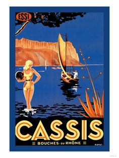 Cassis: Bouches du Rhone Reprodukce na AllPosters.cz.