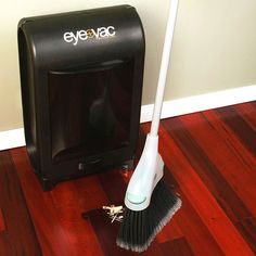 Don't sweep it under the rug, sweep it under the eye vac. :o) Need this! Sam's Club has one for $81.