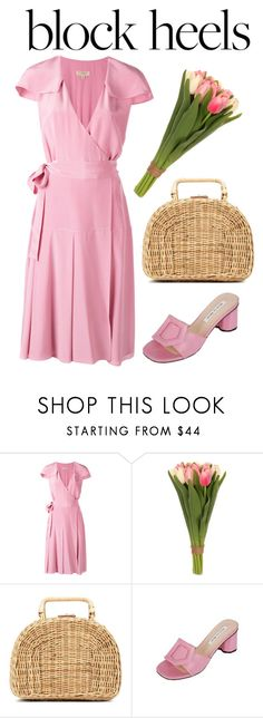"""""""Step Up: Block Heels"""" by thefashionaccounts ❤ liked on Polyvore featuring Burberry, Sia, Kayu, DaBaGirl and blockheels"""