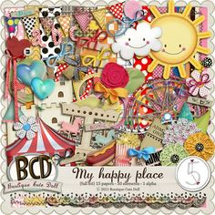 My Happy Place by Boutique Cute Doll at After Five Designs.