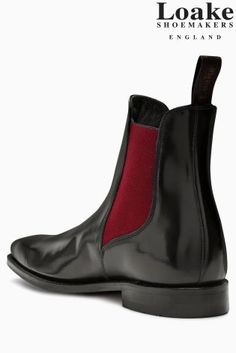 1acf3604c942 Buy Loake Black Hi Shine Ferrers Chelsea Boot from the Next UK online shop