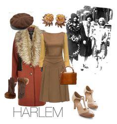 """harlem"" by vay-brown on Polyvore featuring River Island, Lattori, Chelsea Crew, NOVICA, Trifari and Barneys New York"