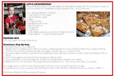 Check out this months featured recipe from our junior chef!