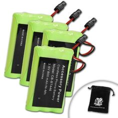 4-Pack truCELL Equivalent BP-446 / BT-446 / BT-461 / BT-909 Battery For Select Uniden , Radio Shack , Southwestern Bell & Sony Cordless Phones - Includes Accessory Bag by Accessory Genie. $11.99. Bring Your Cordless Phone Back To Life!Premium ConstructionThis replacement battery has been constructed with premium nickel-metal hydride cells to provide your cordless phone with reliable power.Long-Lasting PowerThe battery has been designed to meet or exceed OEM specifications to giv...